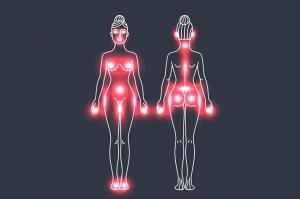 Эрогенные зоны собственного тела и тела партнера оказались зеркальны