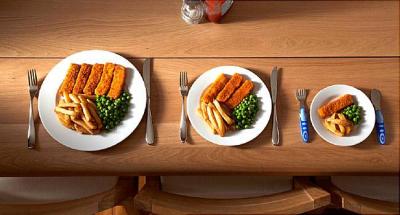 Допустимые порции вредных продуктов
