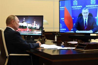 Калужский губернатор попросил у президента поликлинику и центр терапии тяжелыми ионами углерода